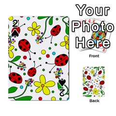 Ladybugs Playing Cards 54 Designs  by Valentinaart