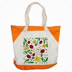 Ladybugs Accent Tote Bag by Valentinaart
