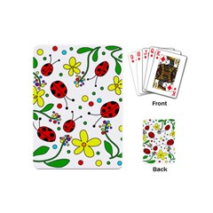 Ladybugs Playing Cards (mini)