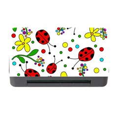 Ladybugs Memory Card Reader With Cf by Valentinaart