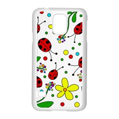Ladybugs Samsung Galaxy S5 Case (white)