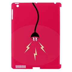Electric Jack Apple Ipad 3/4 Hardshell Case (compatible With Smart Cover) by AnjaniArt