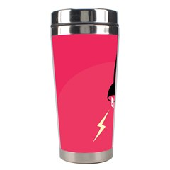 Electric Jack Stainless Steel Travel Tumblers by AnjaniArt