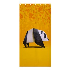 Cute Panda Shower Curtain 36  X 72  (stall)  by AnjaniArt