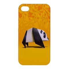 Cute Panda Apple Iphone 4/4s Premium Hardshell Case