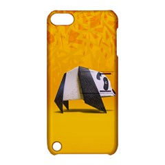 Cute Panda Apple Ipod Touch 5 Hardshell Case With Stand