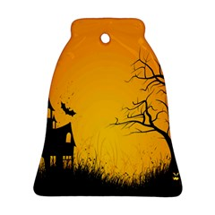 Day Halloween Night Bell Ornament (2 Sides) by AnjaniArt