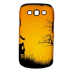 Day Halloween Night Samsung Galaxy S Iii Classic Hardshell Case (pc+silicone) by AnjaniArt