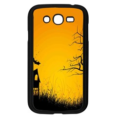 Day Halloween Night Samsung Galaxy Grand Duos I9082 Case (black) by AnjaniArt