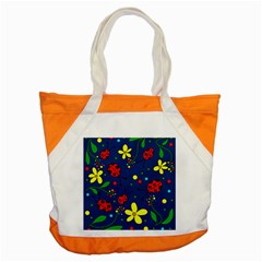 Ladybugs   Blue Accent Tote Bag by Valentinaart