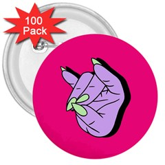 Finger 3  Buttons (100 Pack)
