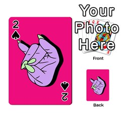 Finger Playing Cards 54 Designs  by AnjaniArt