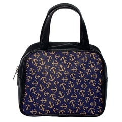 Anchor Ship Classic Handbags (one Side) by AnjaniArt