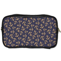Anchor Ship Toiletries Bags by AnjaniArt