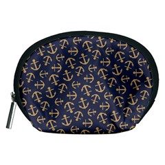Anchor Ship Accessory Pouches (medium)  by AnjaniArt