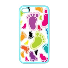Foot Soles Of The Feet Apple Iphone 4 Case (color)