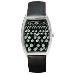 Fish Barrel Style Metal Watch