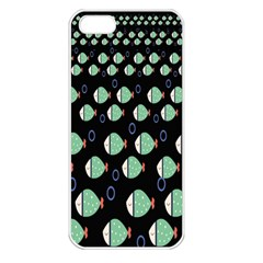 Fish Apple Iphone 5 Seamless Case (white)