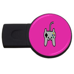 Game Pink Usb Flash Drive Round (2 Gb)