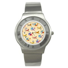 Chicken Stainless Steel Watch