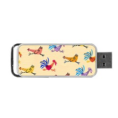 Chicken Portable Usb Flash (one Side) by AnjaniArt