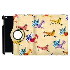 Chicken Apple Ipad 2 Flip 360 Case