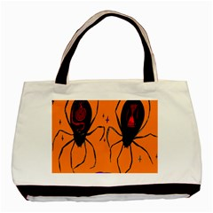 Happy Hellpween Spider Basic Tote Bag (two Sides)