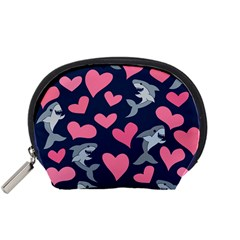 Shark Lovers Accessory Pouches (small)  by BubbSnugg