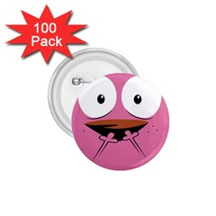 Funny Face 1 75  Buttons (100 Pack)  by AnjaniArt