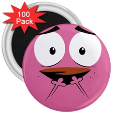 Funny Face 3  Magnets (100 Pack)