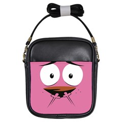 Funny Face Girls Sling Bags