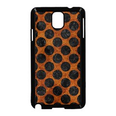 Circles2 Black Marble & Brown Marble (r) Samsung Galaxy Note 3 Neo Hardshell Case (black) by trendistuff