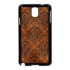 Damask1 Black Marble & Brown Marble (r) Samsung Galaxy Note 3 Neo Hardshell Case (black) by trendistuff