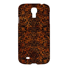 Damask2 Black Marble & Brown Marble (r) Samsung Galaxy S4 I9500/i9505 Hardshell Case by trendistuff