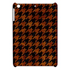 Houndstooth1 Black Marble & Brown Marble Apple Ipad Mini Hardshell Case by trendistuff