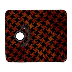 Houndstooth2 Black Marble & Brown Marble Samsung Galaxy S  Iii Flip 360 Case