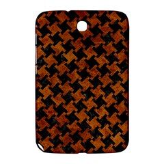Houndstooth2 Black Marble & Brown Marble Samsung Galaxy Note 8 0 N5100 Hardshell Case  by trendistuff