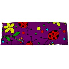 Ladybugs   Purple Body Pillow Case (dakimakura)