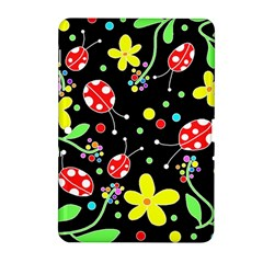 Flowers And Ladybugs Samsung Galaxy Tab 2 (10 1 ) P5100 Hardshell Case  by Valentinaart