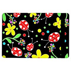Flowers And Ladybugs Ipad Air Flip by Valentinaart