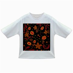 Flowers And Ladybugs 2 Infant/toddler T Shirts by Valentinaart