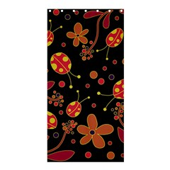 Flowers And Ladybugs 2 Shower Curtain 36  X 72  (stall)  by Valentinaart