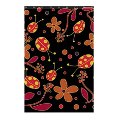 Flowers And Ladybugs 2 Shower Curtain 48  X 72  (small)  by Valentinaart