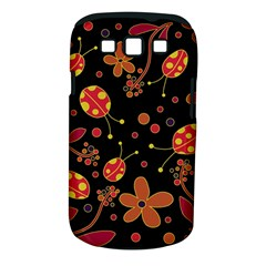 Flowers And Ladybugs 2 Samsung Galaxy S Iii Classic Hardshell Case (pc+silicone) by Valentinaart