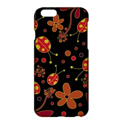 Flowers And Ladybugs 2 Apple Iphone 6 Plus/6s Plus Hardshell Case by Valentinaart
