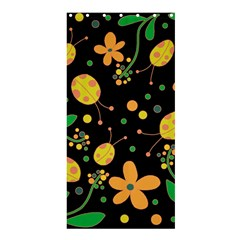 Ladybugs And Flowers 3 Shower Curtain 36  X 72  (stall)  by Valentinaart