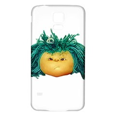 Angry Girl Doll Samsung Galaxy S5 Back Case (white) by dflcprints