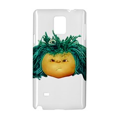 Angry Girl Doll Samsung Galaxy Note 4 Hardshell Case by dflcprints