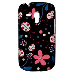 Pink Ladybugs And Flowers  Galaxy S3 Mini by Valentinaart
