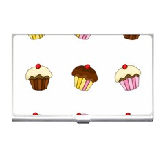 Colorful Cupcakes  Business Card Holders by Valentinaart